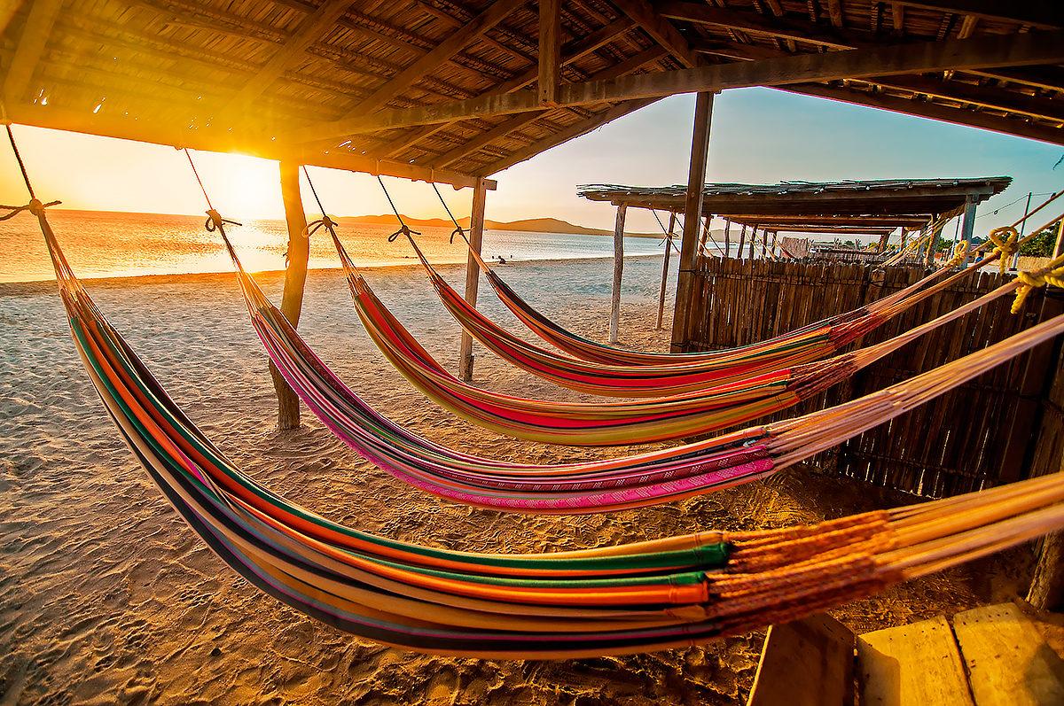 Вечер, пляж, Колумбия
