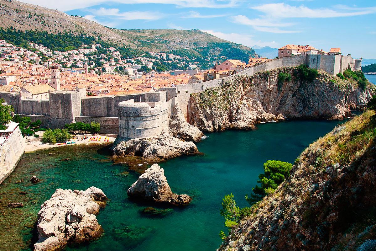 Крепостные стены, Дубровник