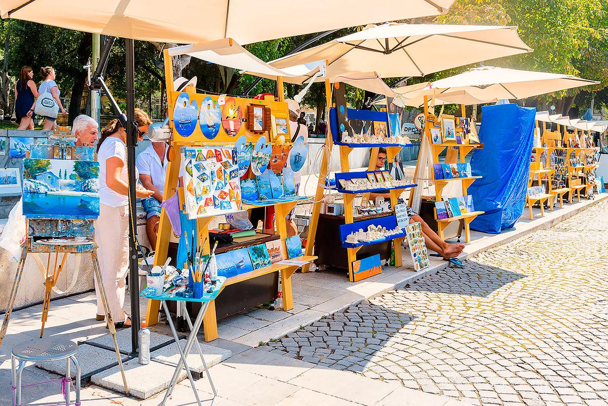 Сувенирный рынок, Сплит