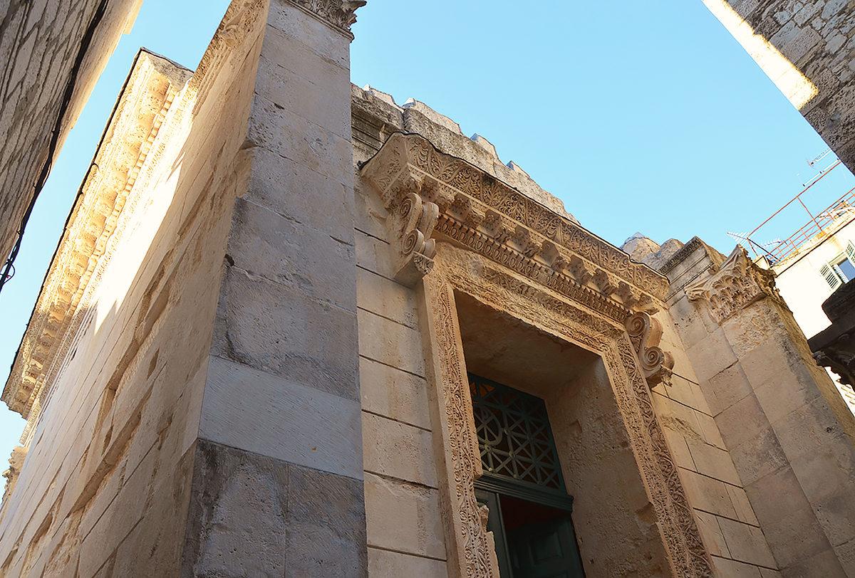 Храм Юпитера, Сплит