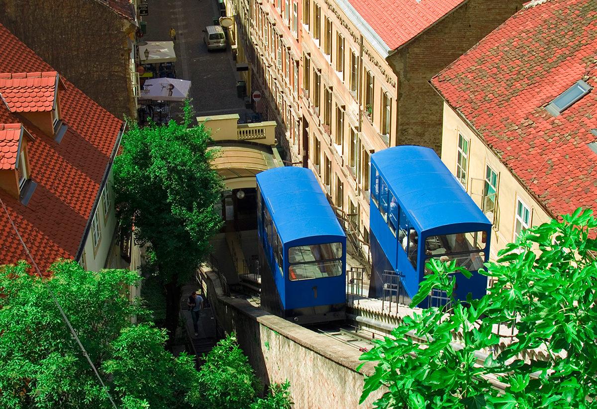 Фуникулер, Загреб