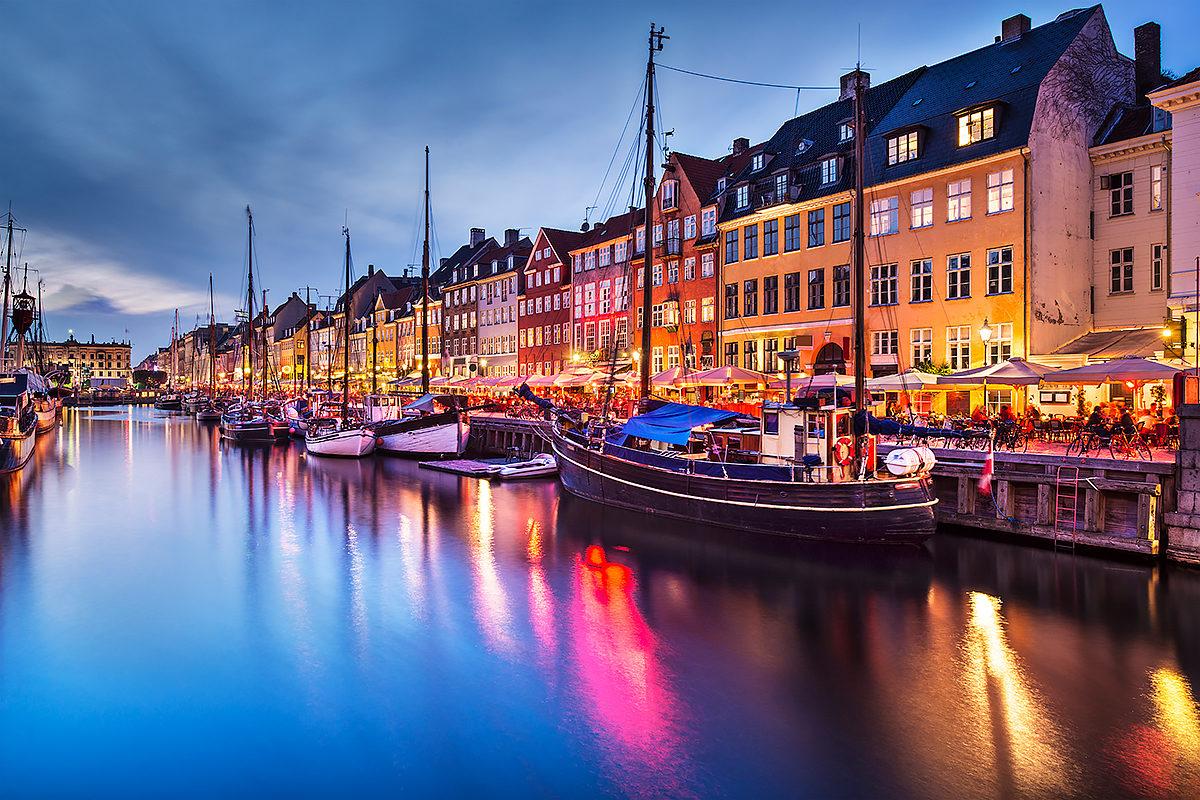 Гавань Нюхавн, Копенгаген