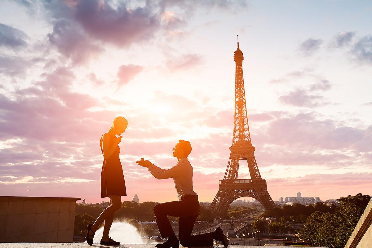 Романтика Эйфелевой башни, Париж