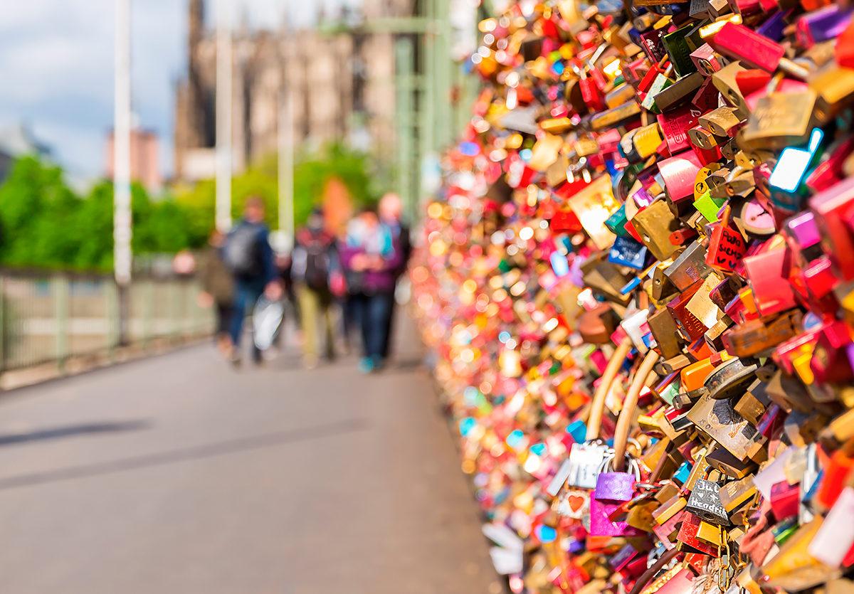 Замки любви, Мост Гогенцоллернов