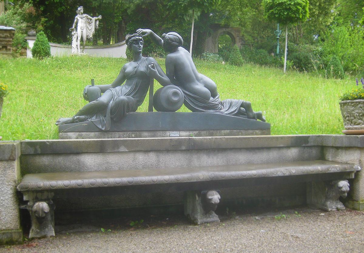 Уютное место для культурного отдыха, Лапидариум, Штутгарт