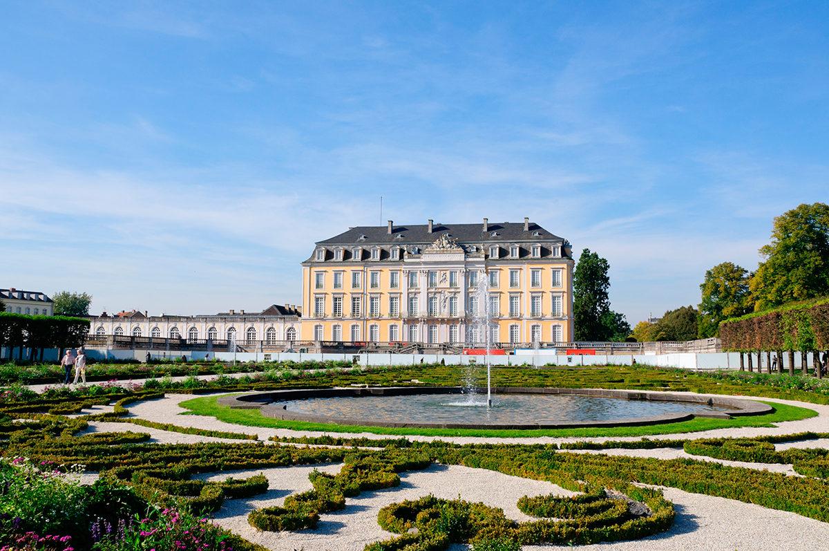 Дворец Аусгустусбург с парком