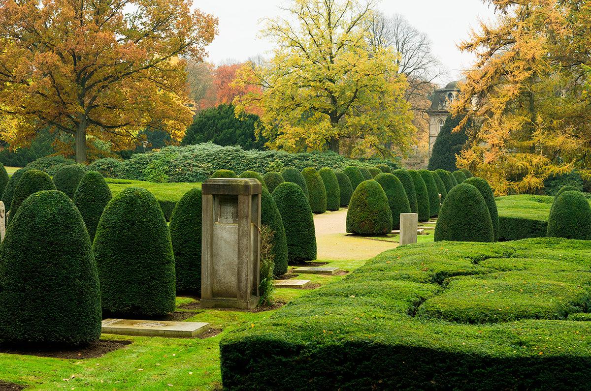 Кладбище Ольсдорф. Тишина.