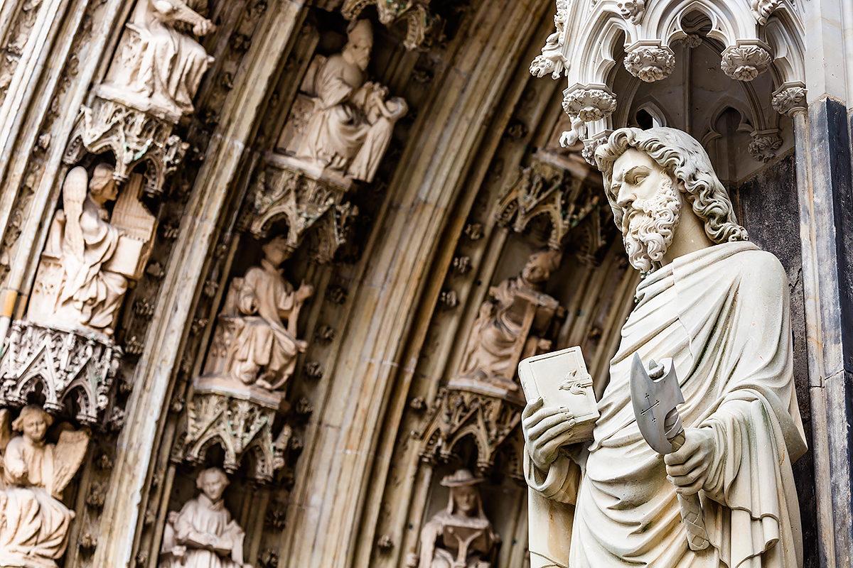 Кельнский собор в деталях