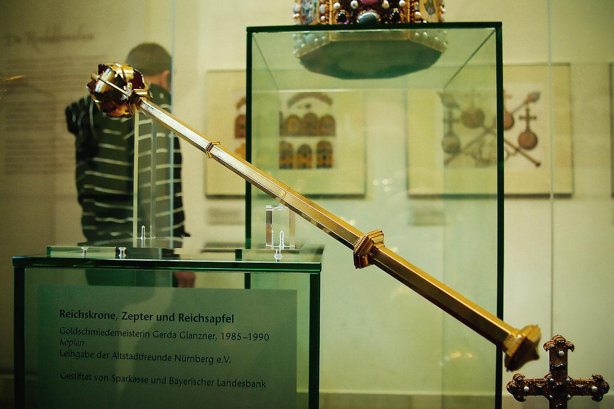 Музей Ратуши Нюрнберга, скипетр