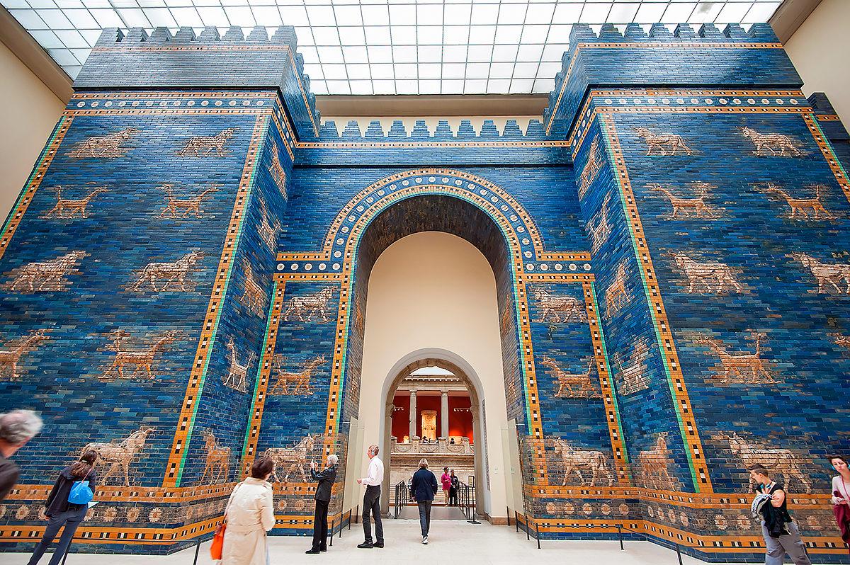 Ворота Иштар в Пергамском музее