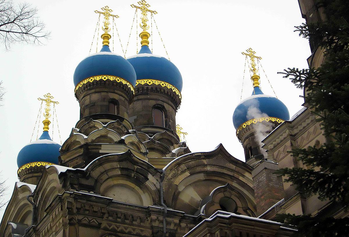 Русская православная церковь преподобного Симеона Дивногорца