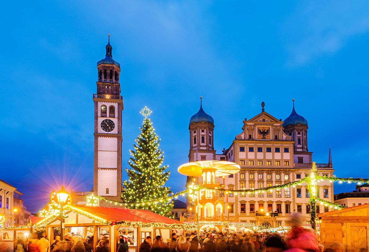 Рождественский рынок, Аугсбург