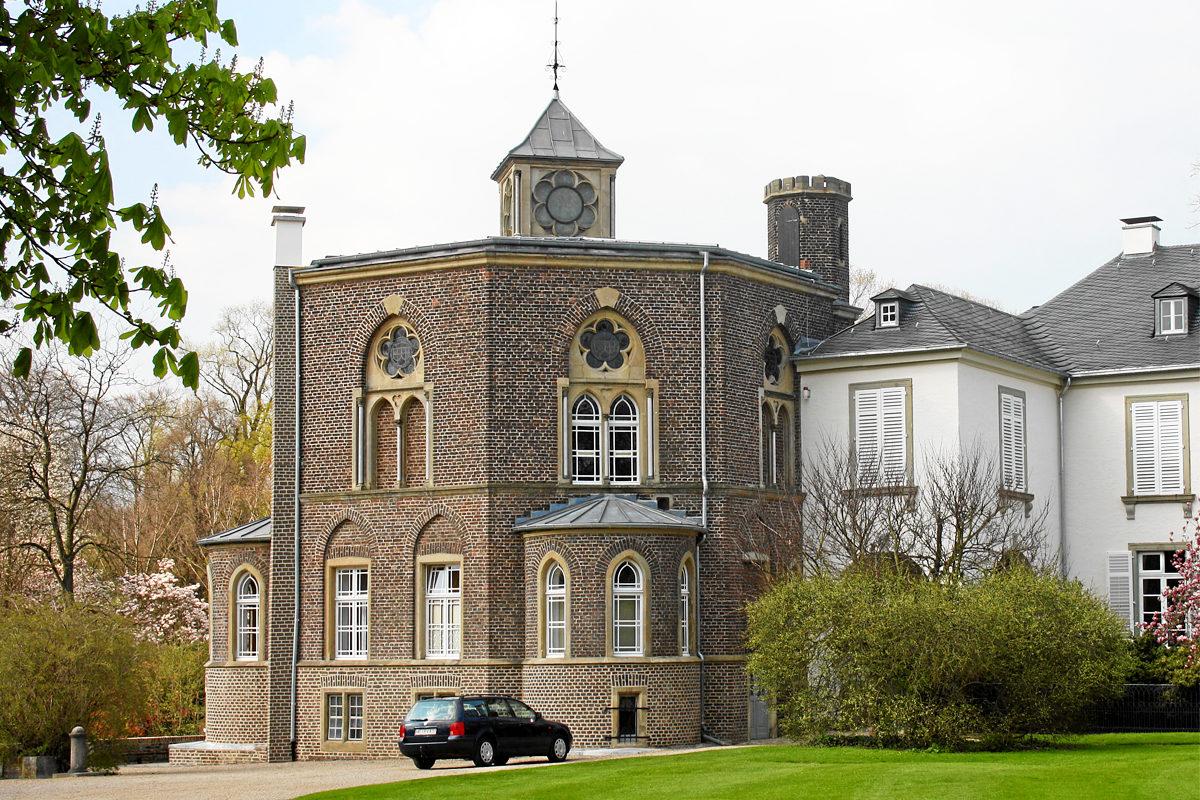 Замок Хельторф, библиотека