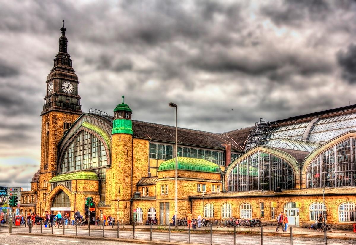 Центральный вокзал, Гамбург