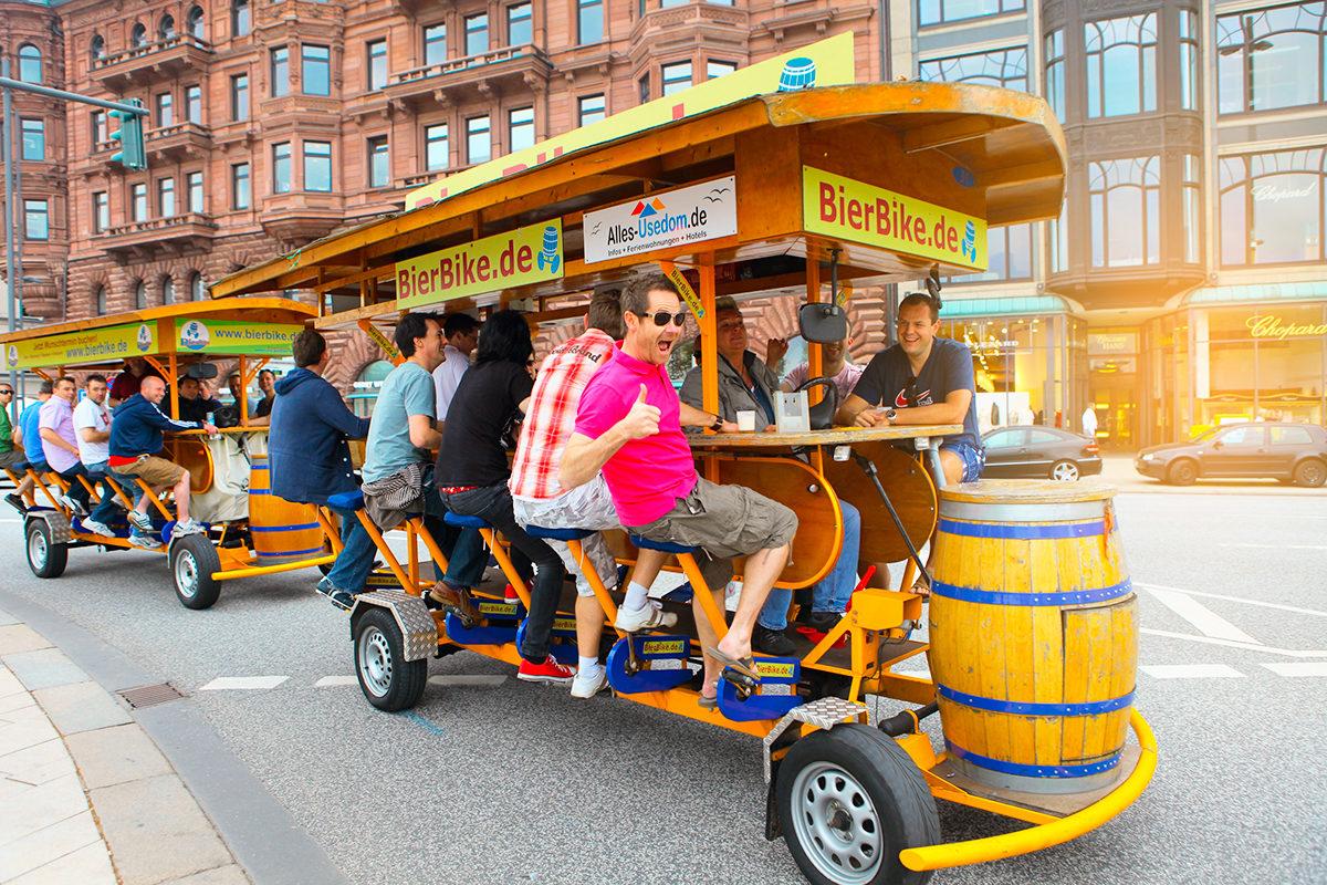 Люди в Гамбурге всегда с настроением!
