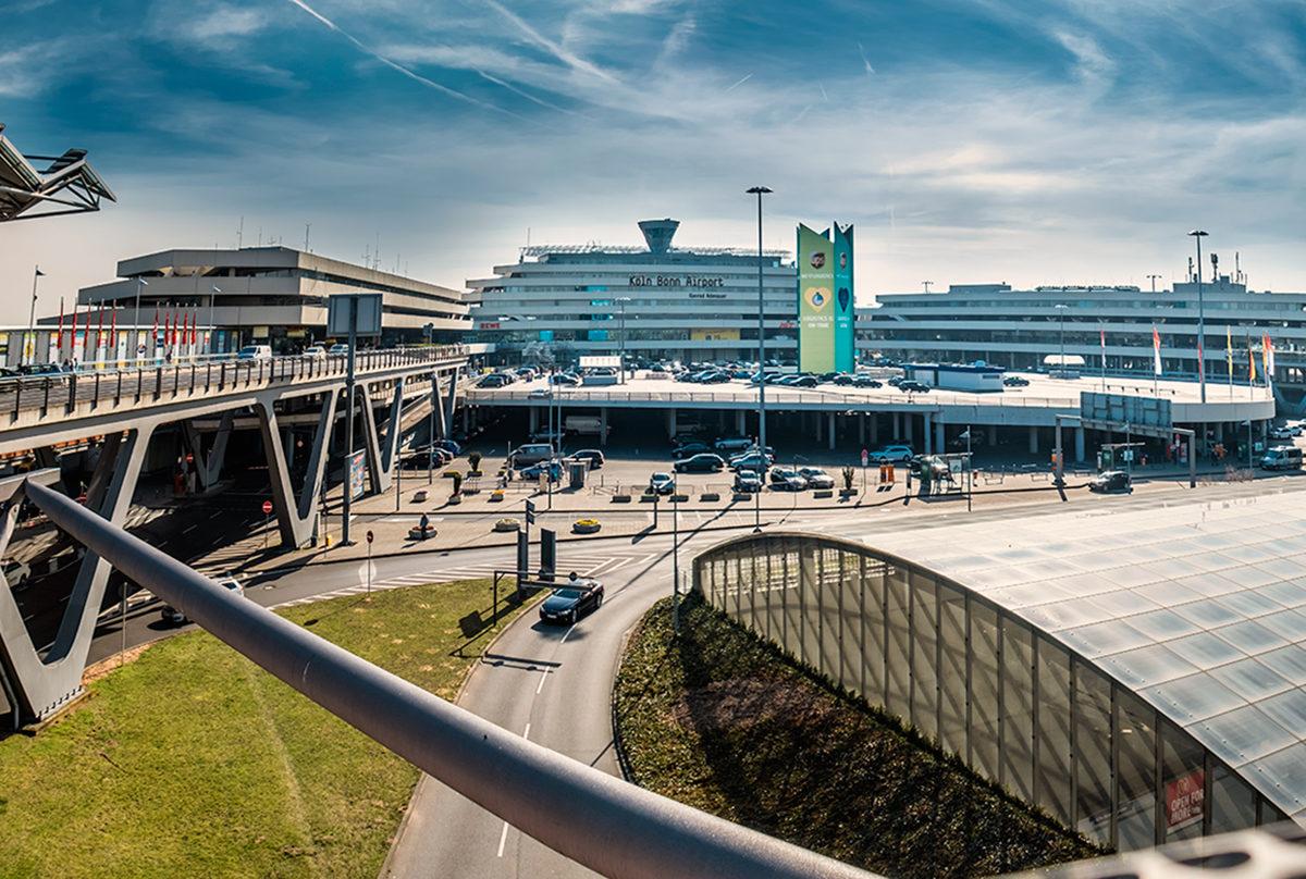 Аэропорт в Кельне