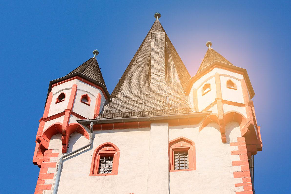 Крыша с башенками Деревянной башни, Майнц