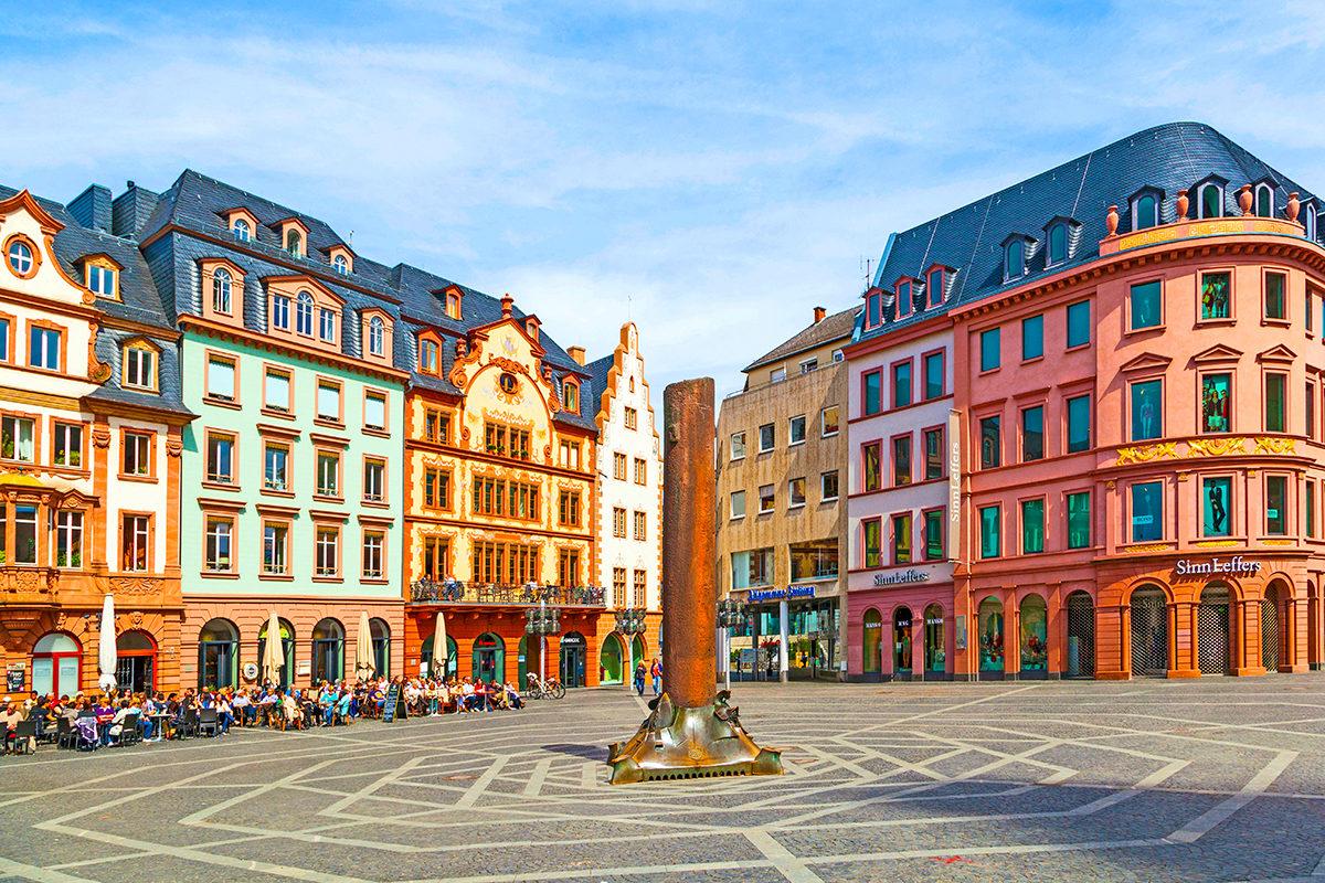 Рыночная площадь Майнца
