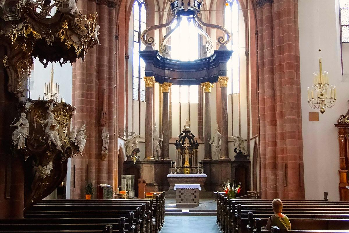 Церковь святого Квентина, интерьер