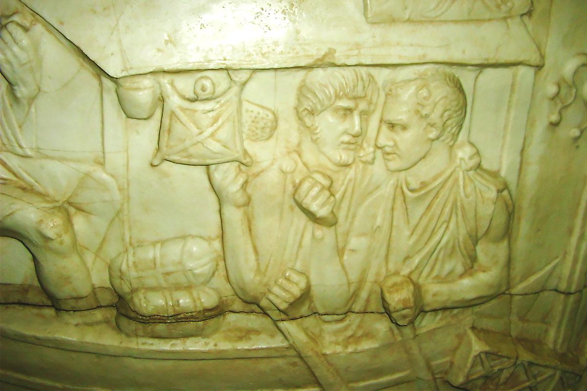 барельеф времен Римской республики, Римско-германский музей