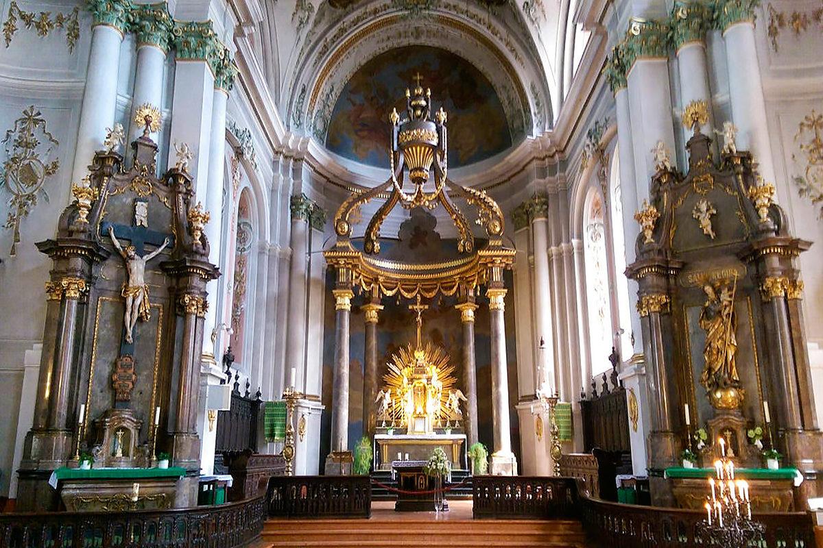 Церковь святого Игнатия, интерьер