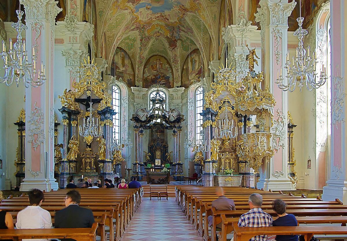Церковь святого Петра, интерьер