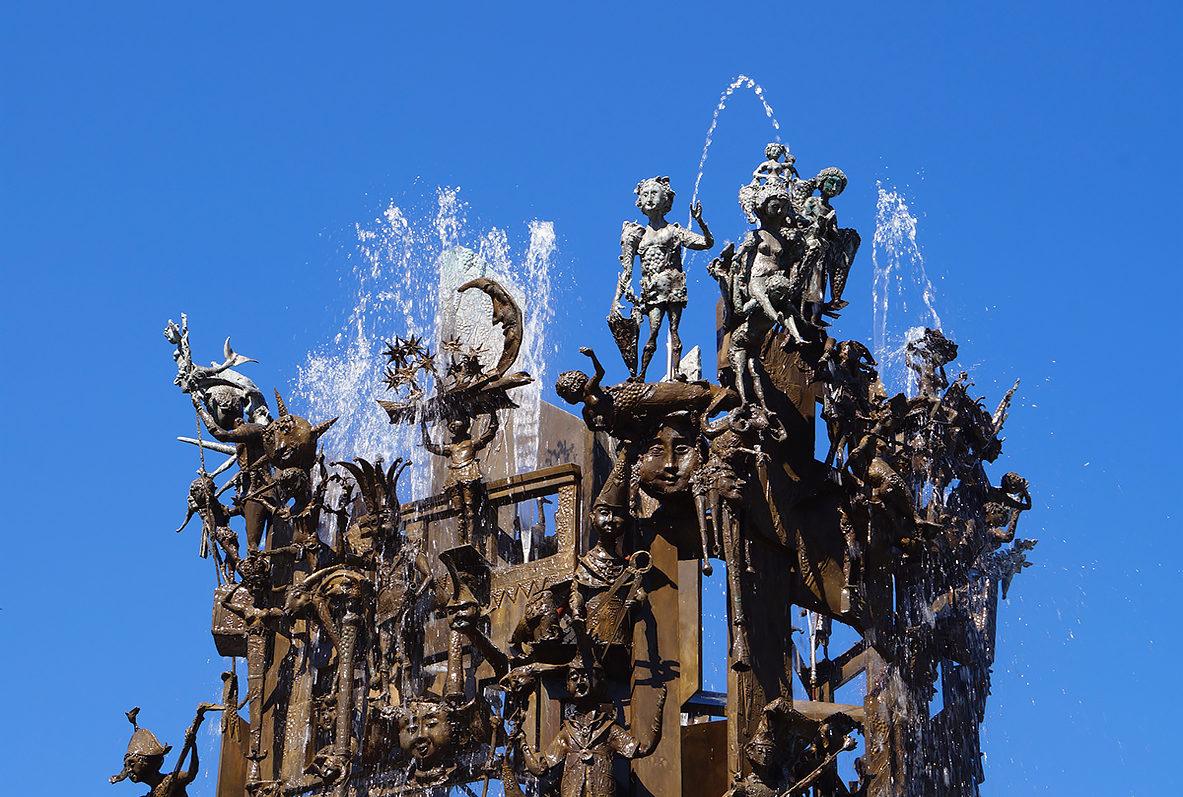 Карнавальный фонтан, Майнц