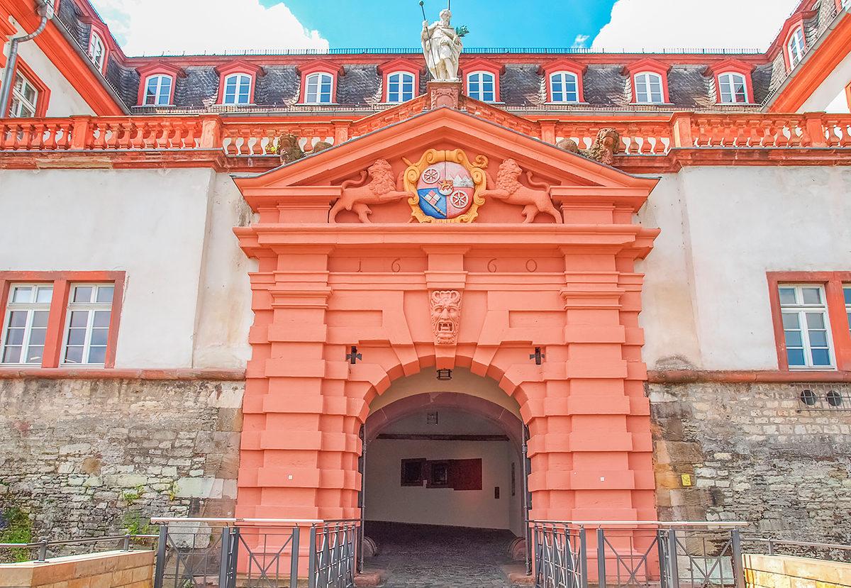 Вход в Цитадель, Майнц