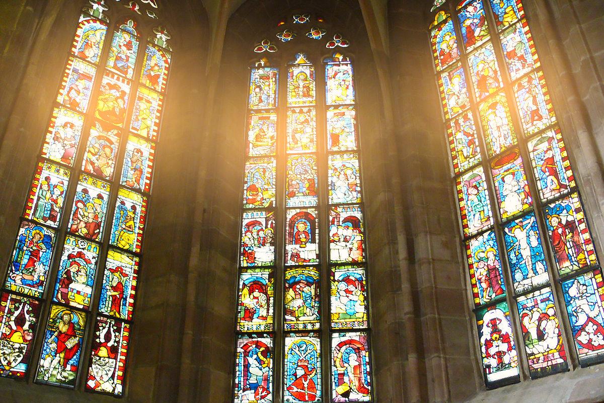Витражи в Церкви святой Марты