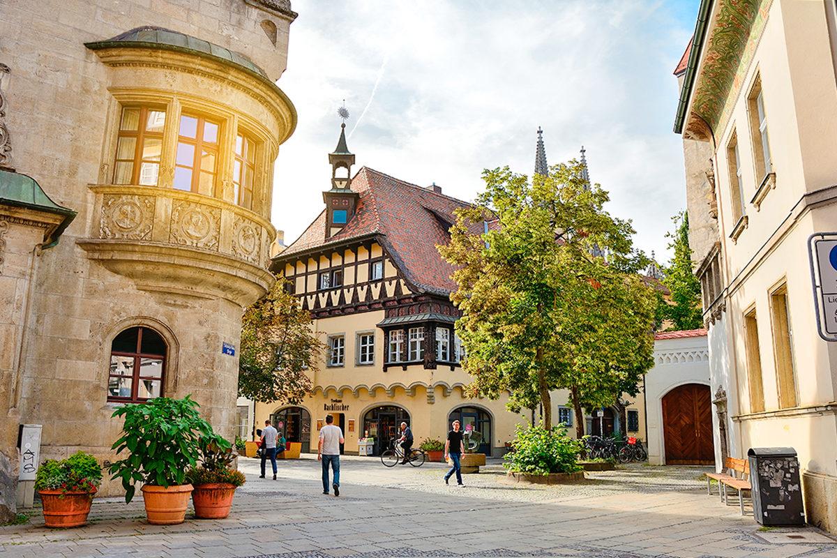 Сохранивший свою самобытность город, Регенсбург