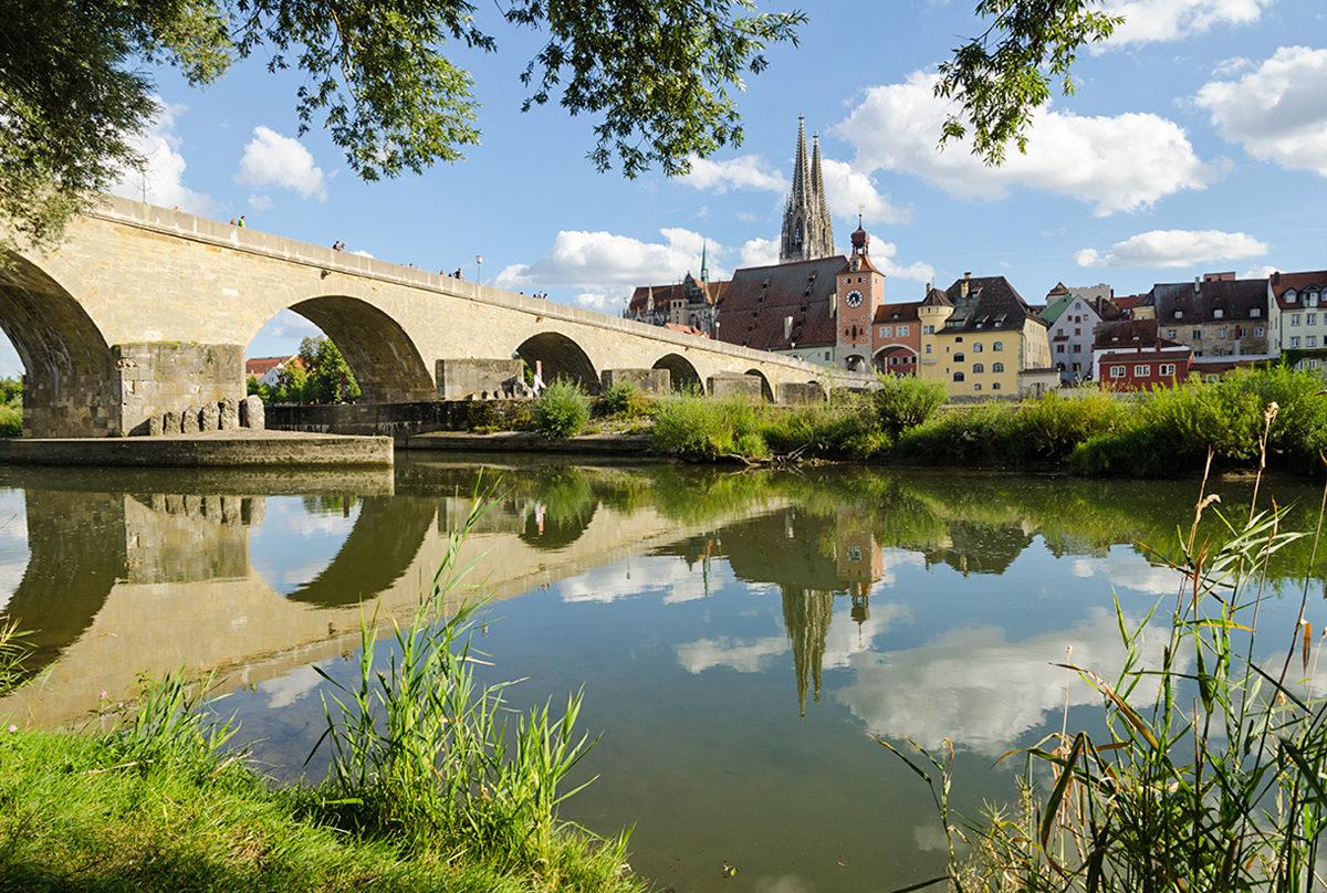 Каменный мост, Регенсбург
