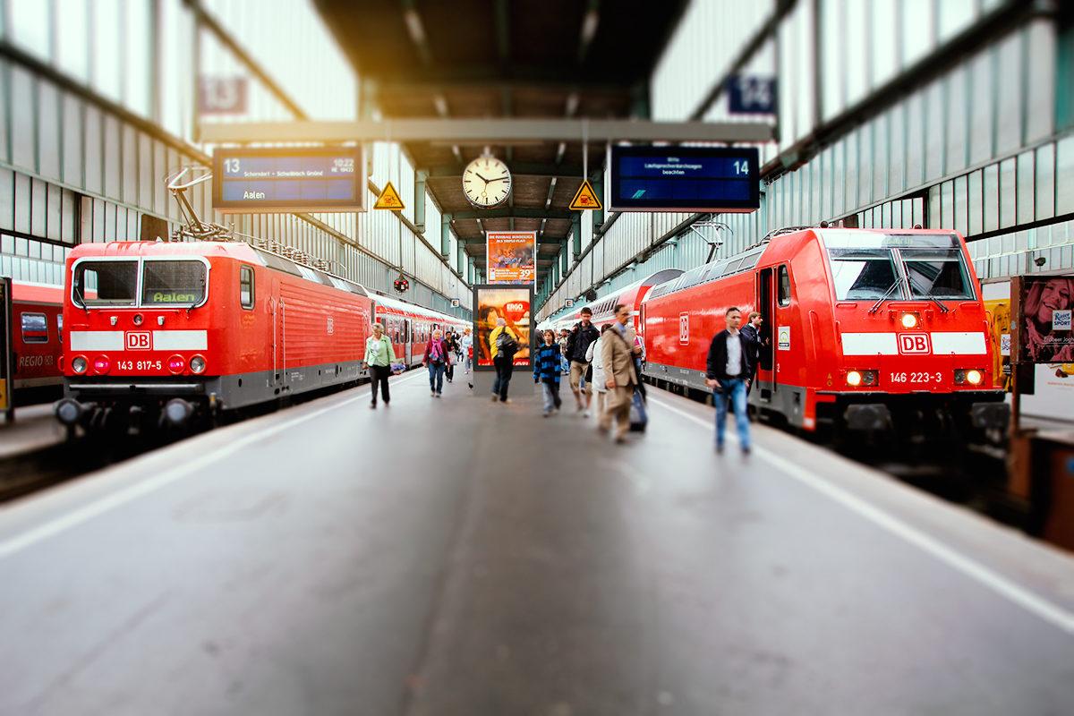 Железнодорожное сообщение, Штутгарт
