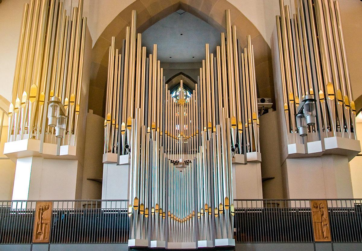 Старинный орган в Монастырской церкви, Штутгарт