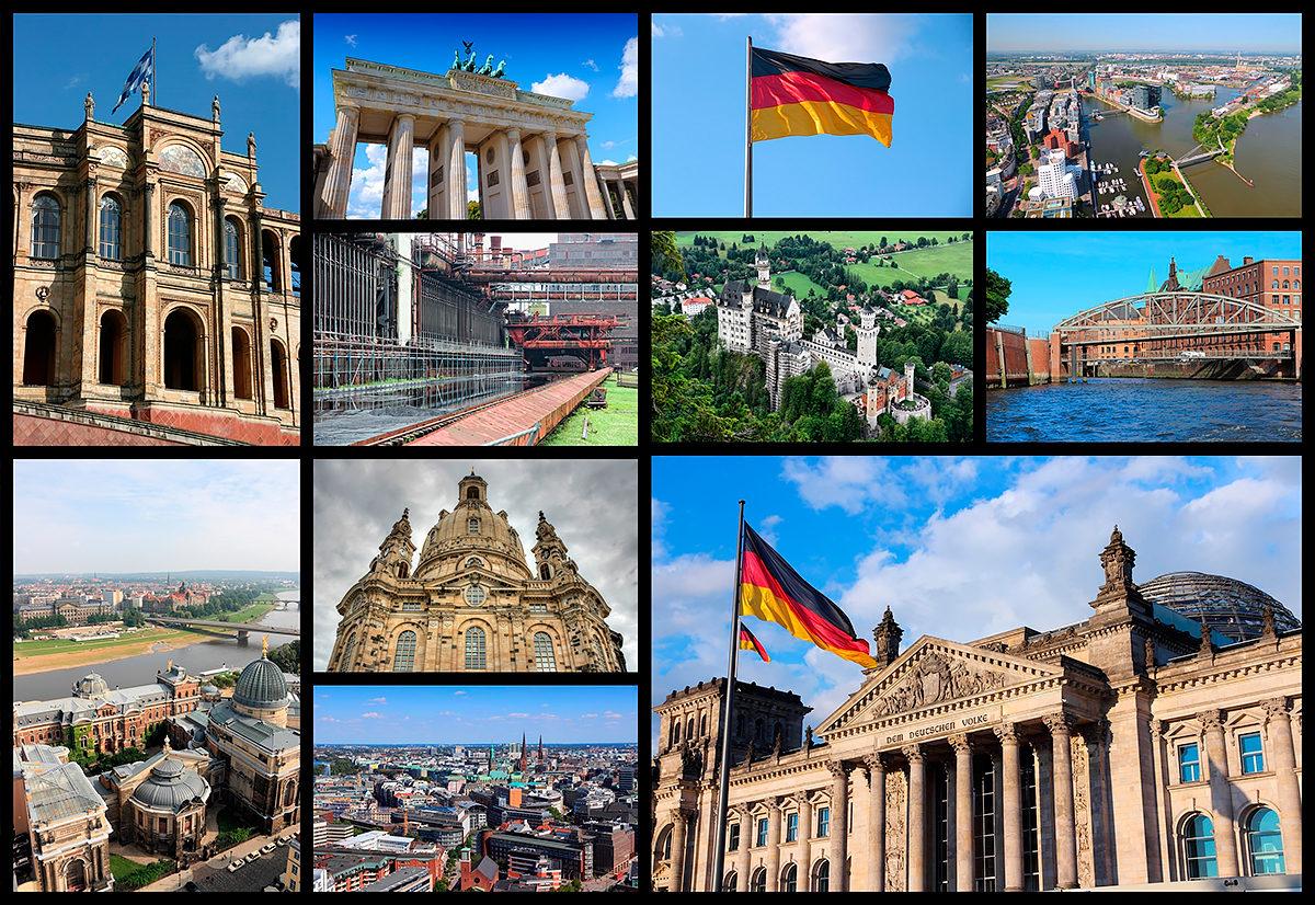 Германия, коллаж