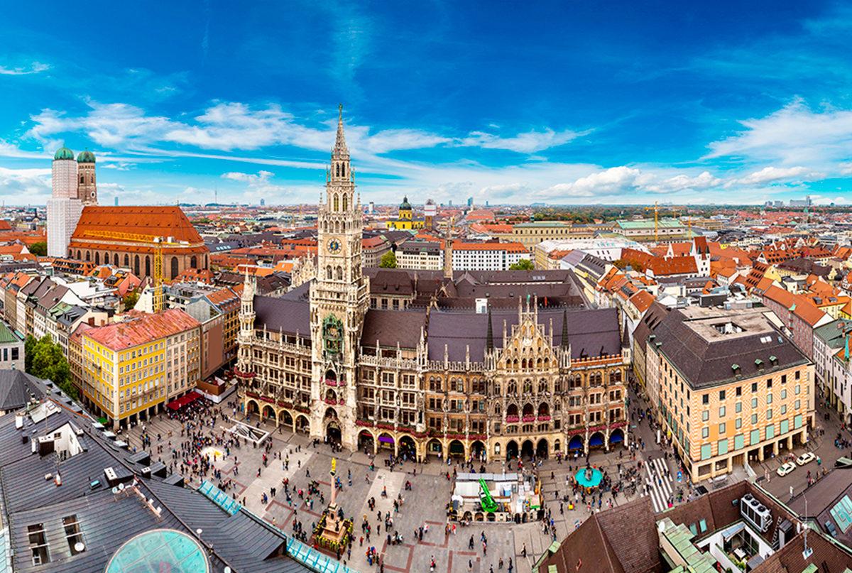 Новая ратуша на площади Мариенплац, Мюнхен