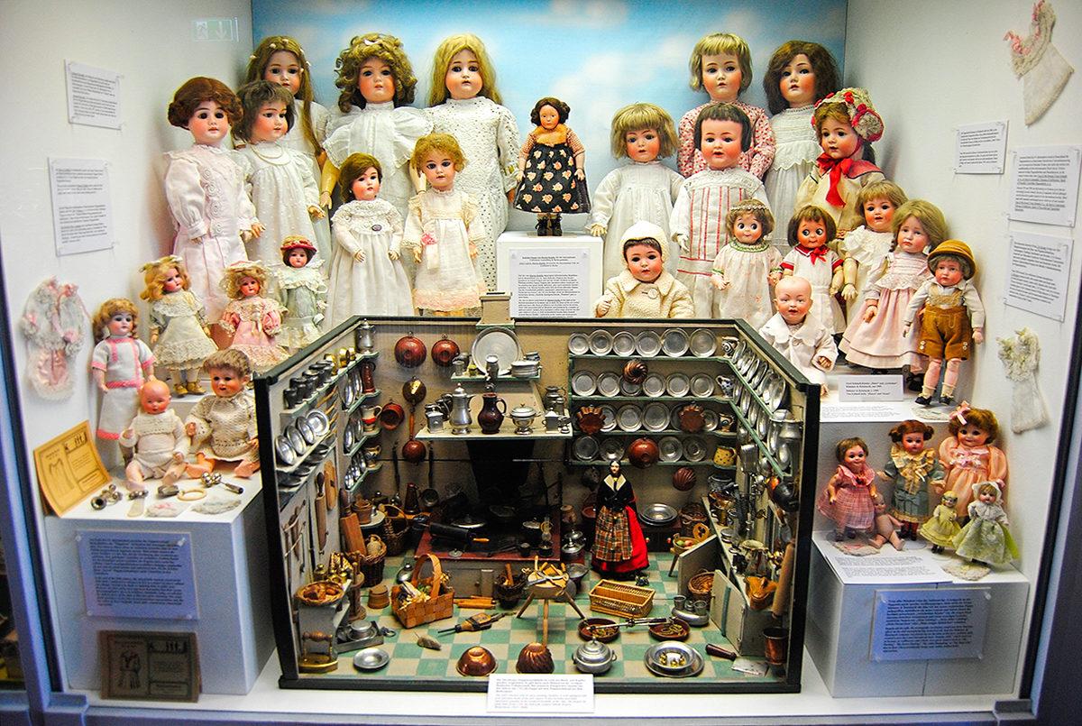 Экспозиция в Музее кукол, Мюнхен