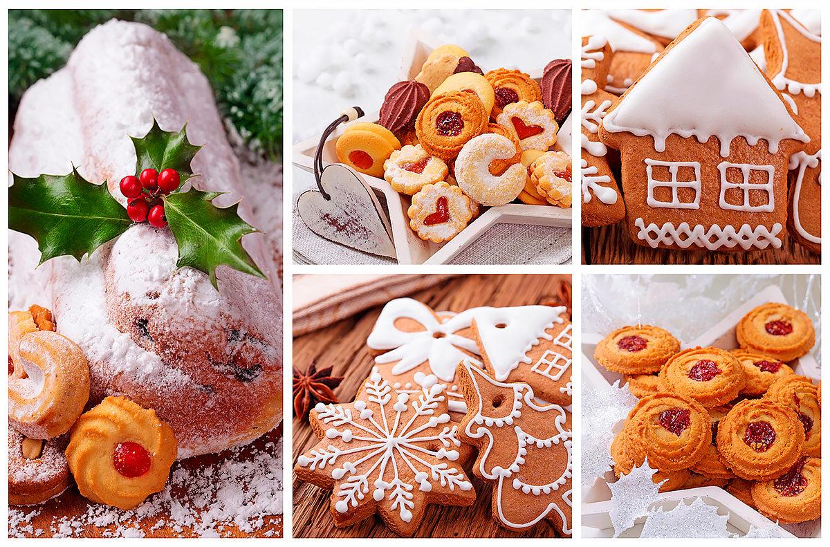 Штоллен и другая рождественская выпечка