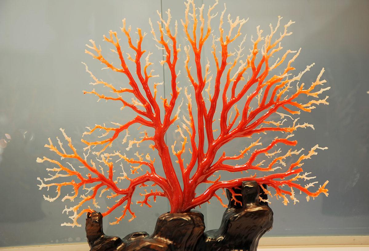 Поделка из коралла