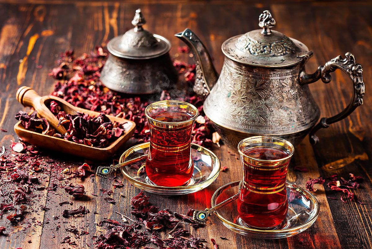 Красный чай Каркаде, Египет