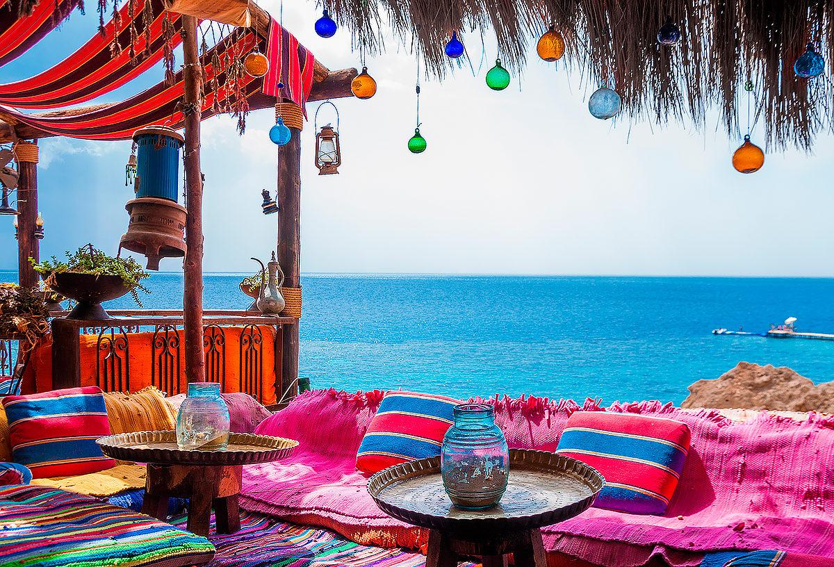 Расслабленный отдых на пляже Хадаба, Египет