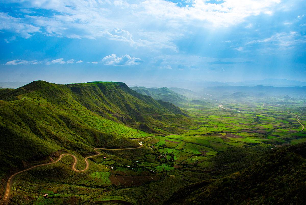 Потрясающие ландшафты Эфиопии