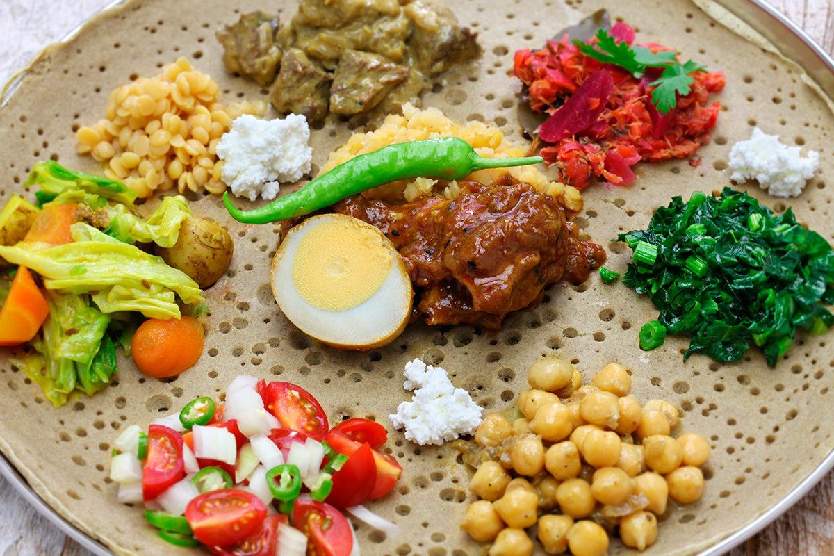 Традиция эфиопской кухни