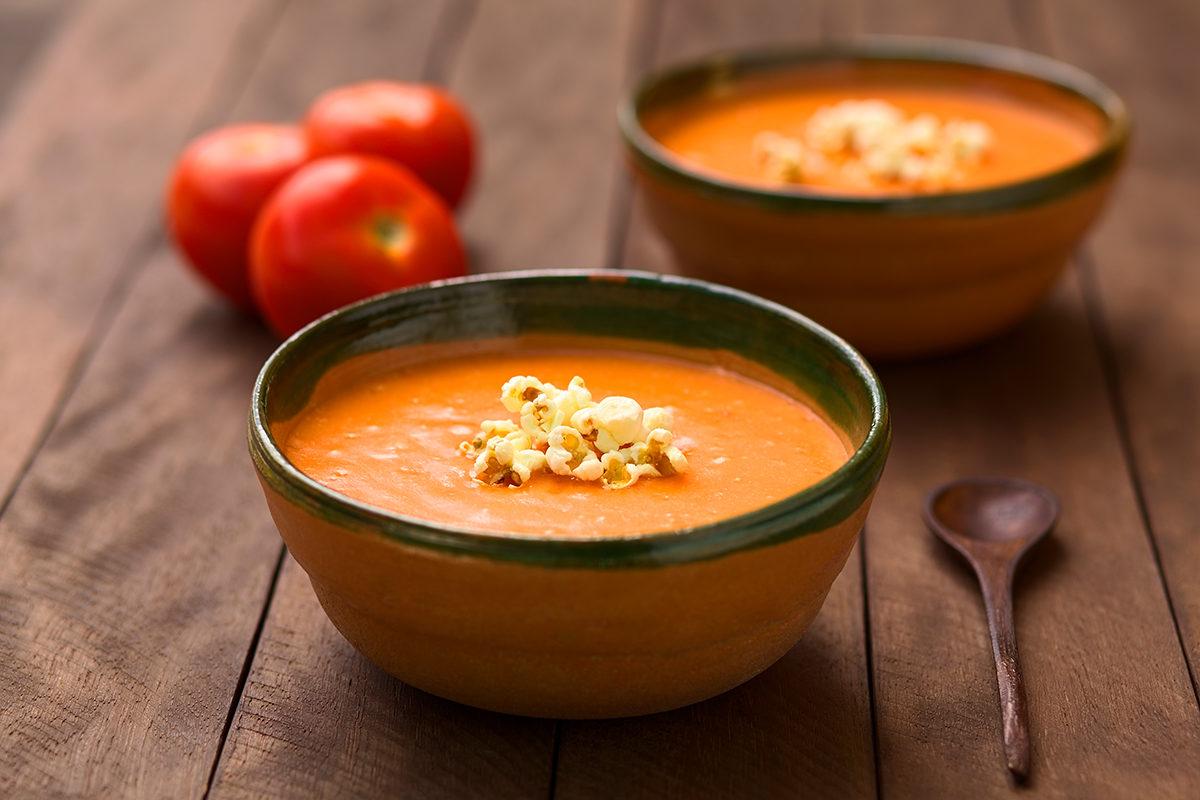 Деревенский сливочный суп