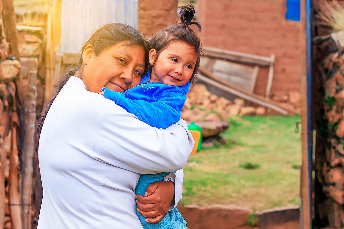 Крестная с крестницей, Эквадор