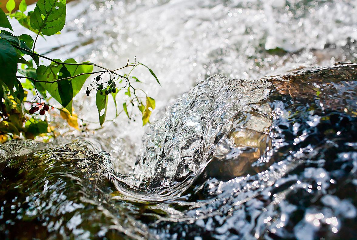 Шум воды можно слушать бесконечно!