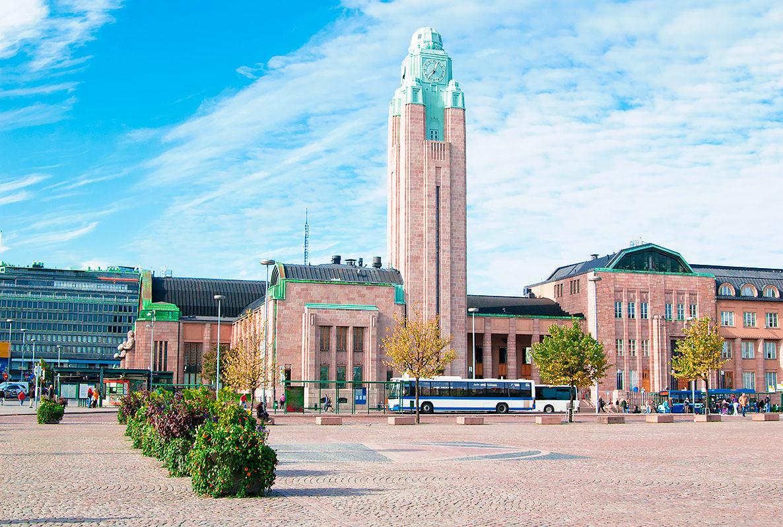 Здание центрального вокзала, Хельсинки