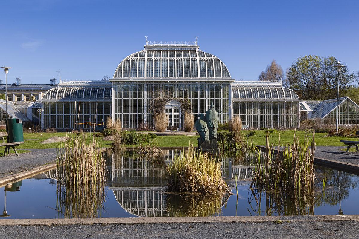 Ботанический сад, Хельсинки