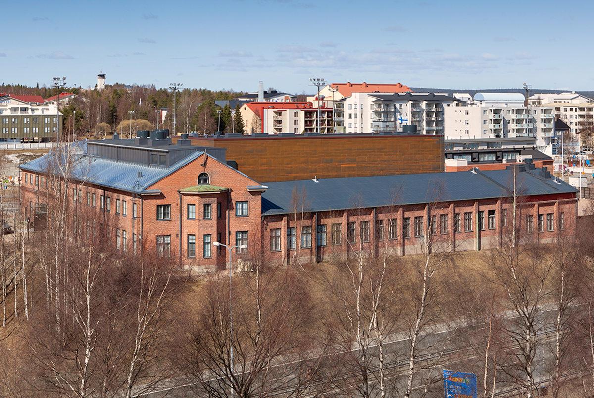 Здание культурного центра Курунди