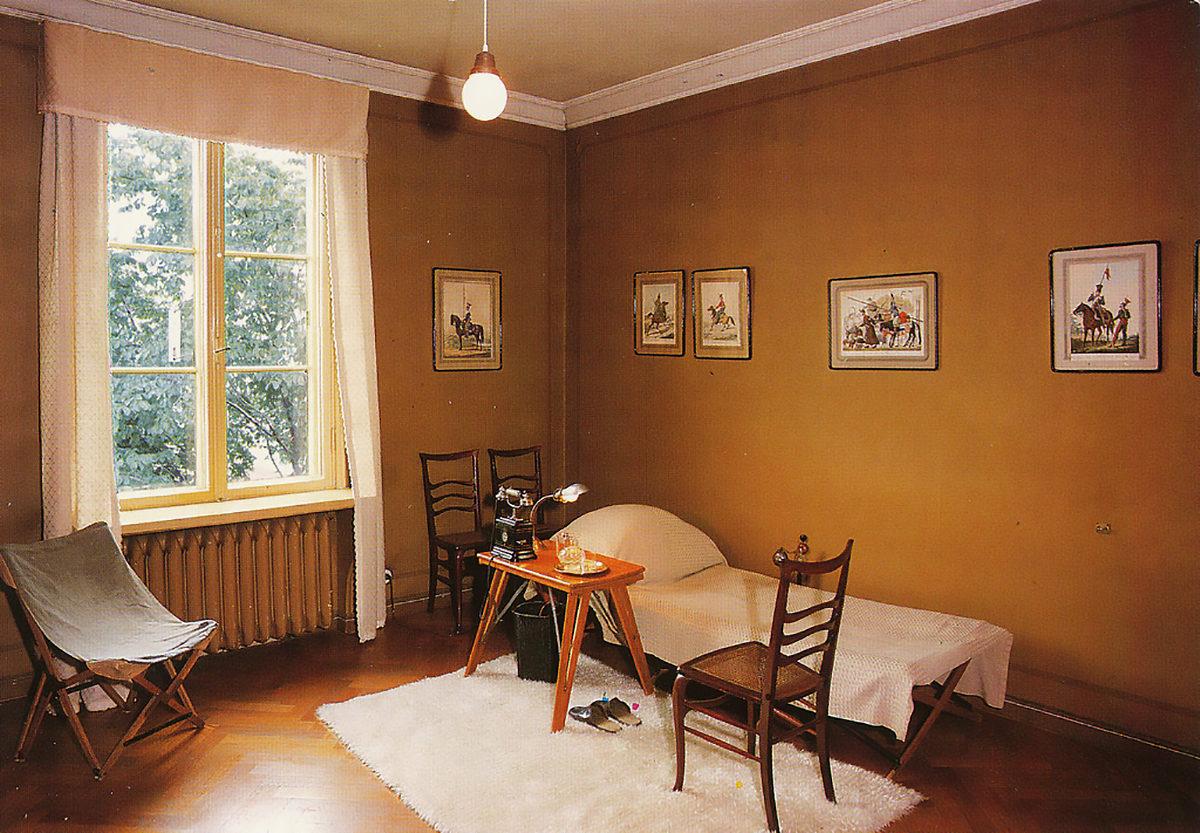 Комната в Музее Маннерхайма