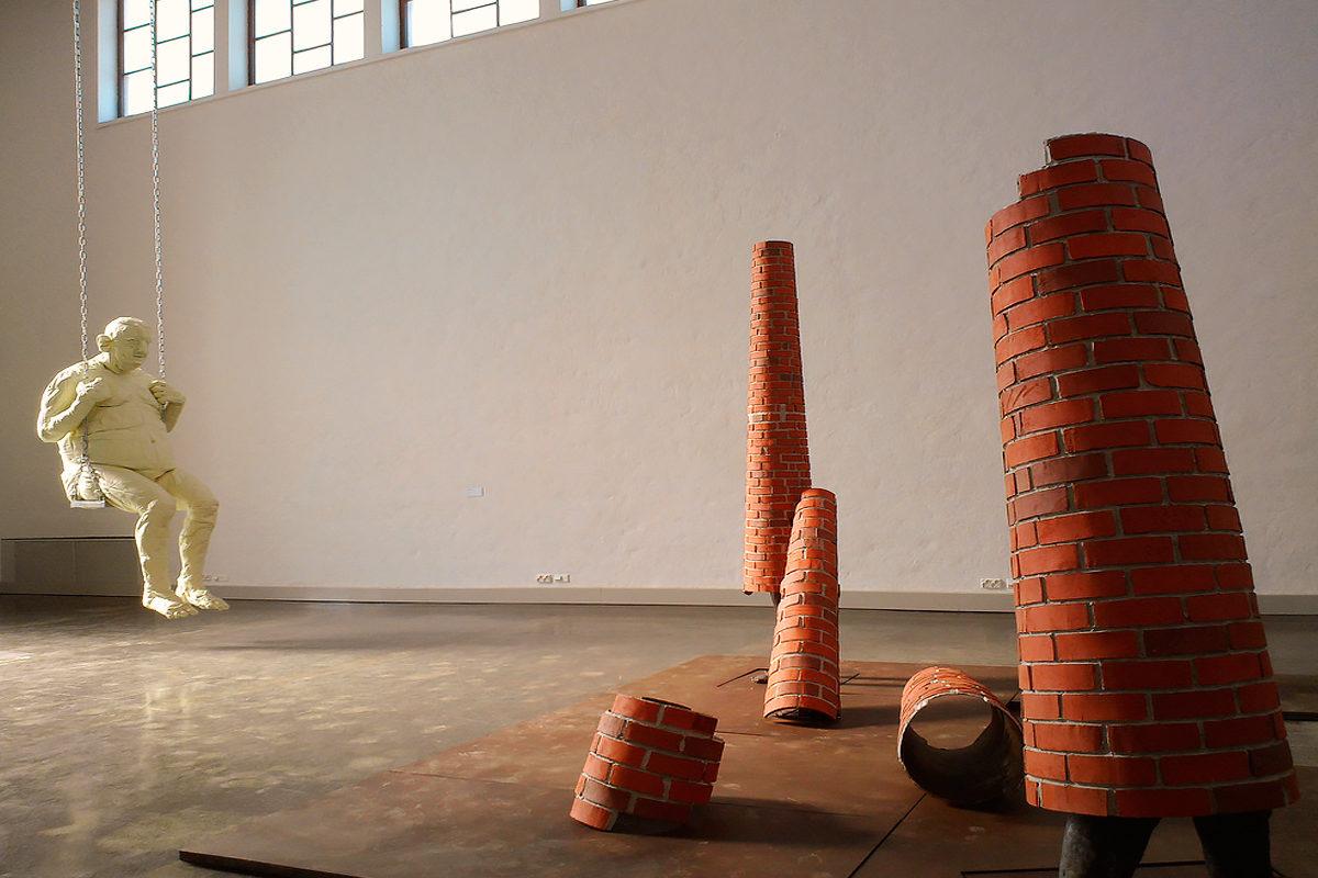 Одна из выставок в Художественной галерее